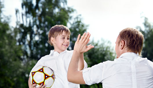 respeitando pai e filho